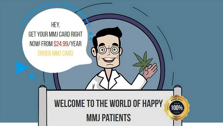 Dr. Weedy - apply for medical marijuana card online