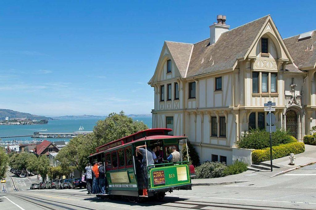 the Cable Cars in San Francisco, California