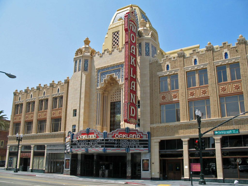 Fox Theater in Oakland, California