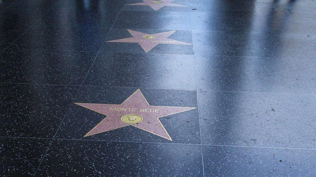 The Hollywood Walk of Fame in Los Angeles, California