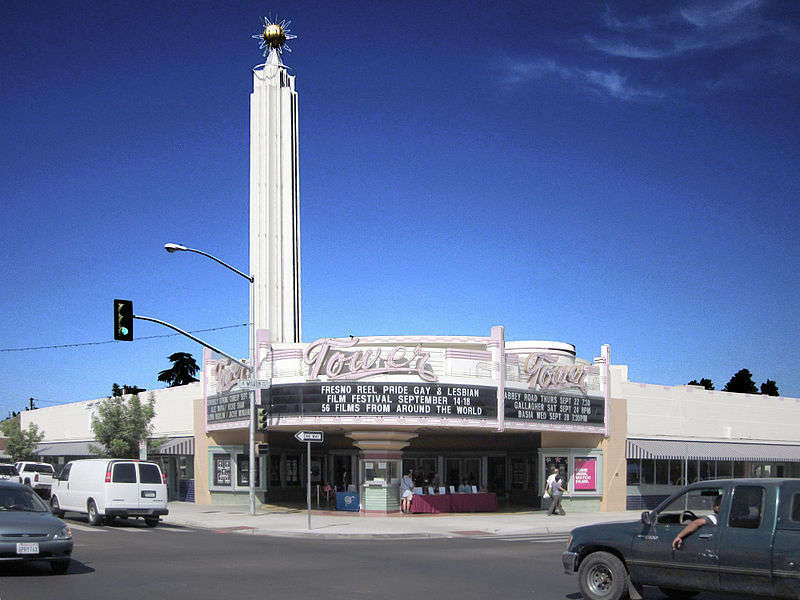 Tower Theater in Fresno, California