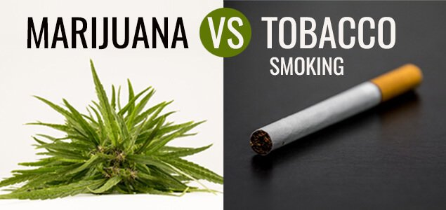 Marijuana vs tabacco