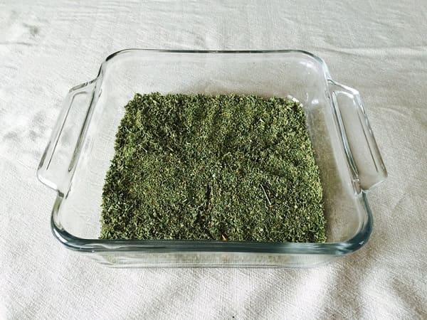 Cannabis Tincture Ingredients