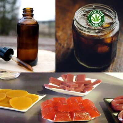 Cannabis tincture against edible cannabis