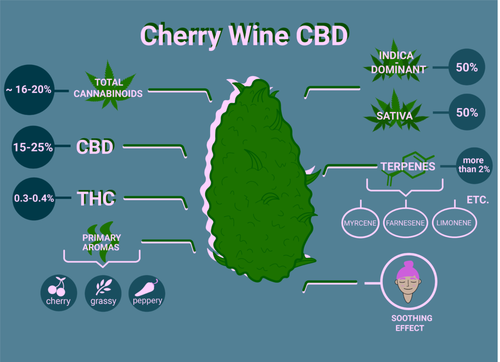 Cherry Wine CBD Strain