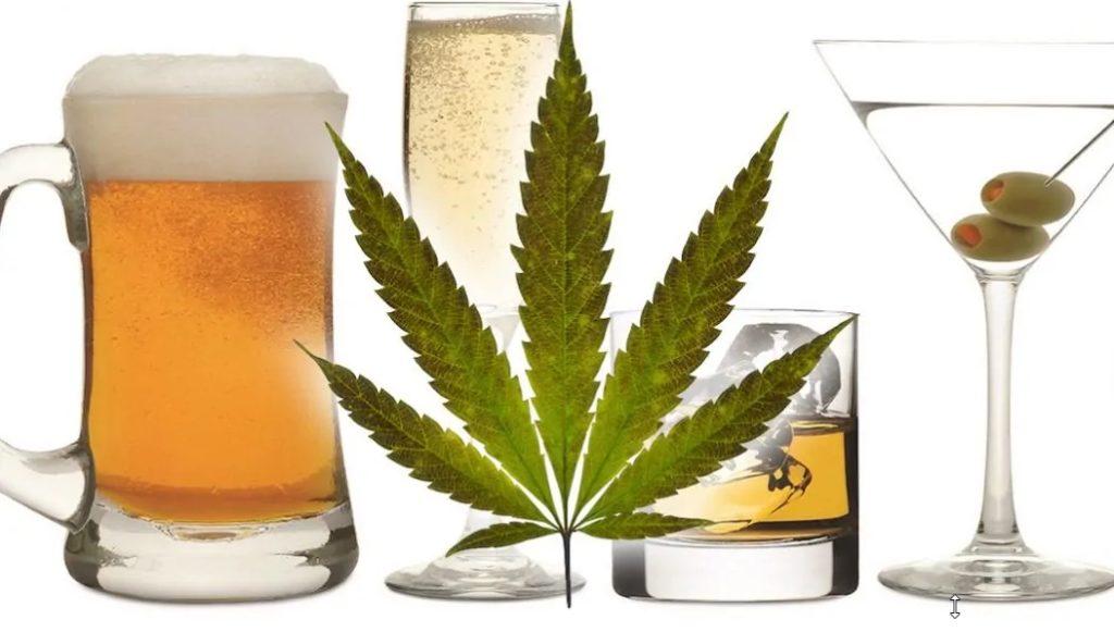 Alcohol and CBD Oil