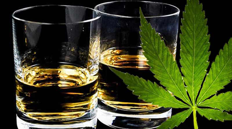CBD Together with Liquor