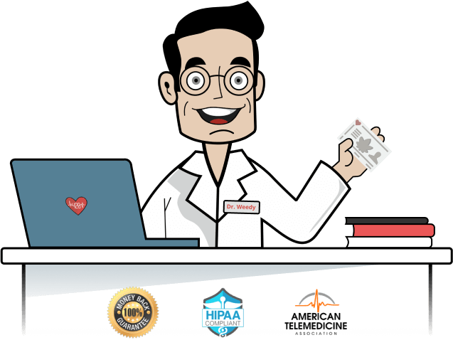 Medical Marijuana Card online - Dr. Weedy Clinic